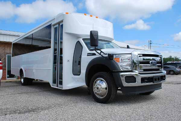 22 Passenger party bus rental Falcon