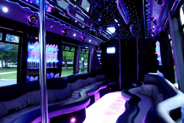 22 people party bus limo Castle Rock