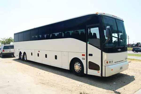50 passenger charter bus Aurora