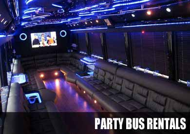 Airport Transportation Party Bus in Colorado Springs