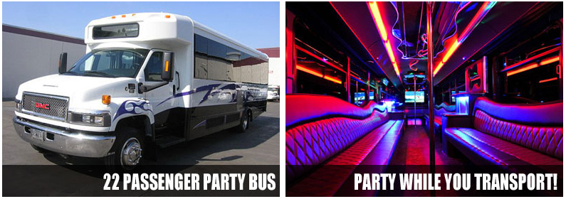 Charter party bus rentals Colorado Springs