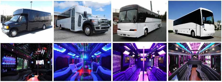Prom & Homecoming Party buses Colorado Springs